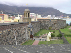 Castle of Good Hope (Kasteel de Goede Hoop), Cape Town, South Africa. Author and Copyright Marco...