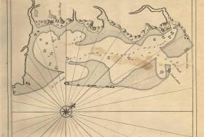 Dutch map of a coast of Mauritius. Johannes van Keulen De Z.O. Haven van 't Eyland Mauritius, Amsterdam 1753