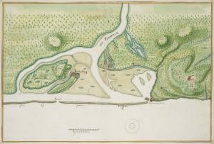 Fort Gijseling (Cabo Santo Agostinho) (1665). Author Johannes Vingboons