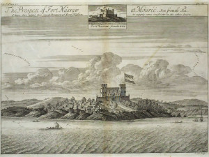 Fort Nassau at Mouri, Ghana. Author Johannes Kip (1704). No Copyright