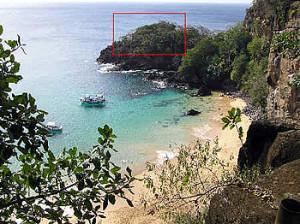 Forte de São João Batista dos Dois Irmãos, Baia dos Porcos-Praia do Sancho, Fernando de Noronha. Author and Copyright Marco Ramerini