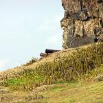 Forte de São Joaquim do Sueste, Ponta das Caracas, Fernando de Noronha. Author and Copyright Marco Ramerini