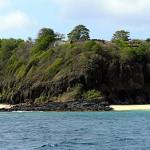 Forte de São Pedro do Boldró, Praia do Boldró, Fernando de Noronha. Author and Copyright Marco Ramerini.