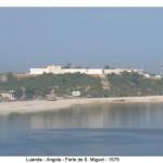 Fortress of São Miguel, Luanda, Angola. Author and Copyright Virgilio Pena da Costa.