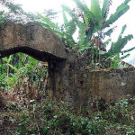 Gateway to the Lower Fort, Fortaleza da Ponta da Mina, Príncipe island. Author and Copyright James Leese