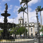 Igreja da Ordem Terceira de São Domingos (1731-1737), Terreiro de Jesus and Praça da Sé, Salvador (Bahia), Brazil. Author and Copyright Marco Ramerini
