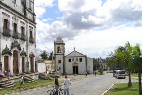 Church of São Cosme e Damião (1535), Igarassu, Pernambuco, Brazil. Author and Copyright Marco Ramerini