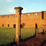 The Jesuit mission of Jesus Tavarangue, Paraguay. Author Patty P. No Copyright