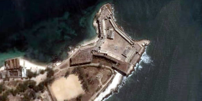 Mozambique island Fort, Mozambique
