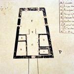 Old map of the Forte de São Pedro do Boldró, Praia do Boldró, Fernando de Noronha. Photo Marco Ramerini