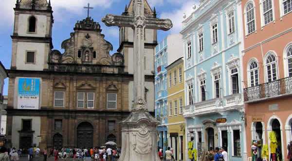 Convent and Igreja de São Francisco, Salvador de Bahía, Bahía, Brazil. Author and Copyright Marco Ramerini.