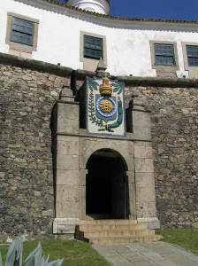 The entrance gate, Forte de Santo Antônio da Barra, Salvador (Bahia), Brazil. Author and Copyright Marco Ramerini