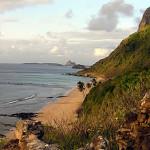 The view from the Forte de São Pedro do Boldró, Praia do Boldró, Fernando de Noronha. Author and Copyright Marco Ramerini