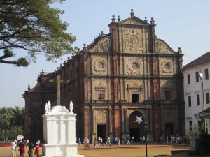 Basilica of Bom Jesus, Goa, India. Author Ankur. Licensed under the Creative Commons Attribution-Share Alike