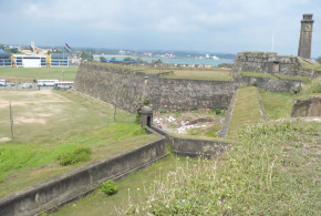 Dutch Fort, Galle, Sri Lanka. Author and Copyright Dietrich Köster