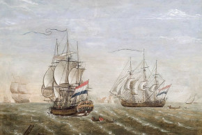 Dutch ships. Author Jan Voerman. No Copyright