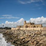 Fort Dansborg, Tranquebar, India. Author Esben Agersnap. Licensed under the Creative Commons Attribution-Share Alike