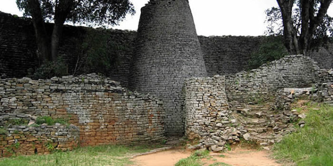 Great Zimbabwe. Author and Copyright Chris Dunbar
