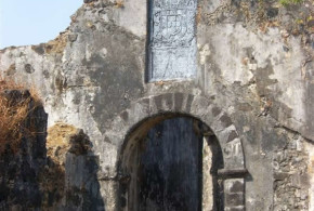Korlai Fort (Morro de Chaul), India. Author Darima. Licensed under the Creative Commons Attribution