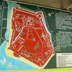 Malacca fort plan. Author and Copyright Krzysztof Kudlek