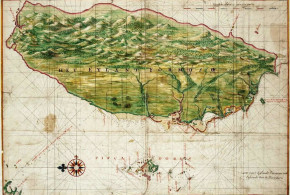 Map of Formosa (Taiwan) by Johannes Vingboons, 1640