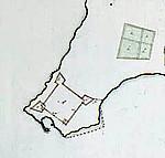 Map of Keelung (1695), Taiwan. Author Isaac de Graaf. No Copyright