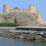Mirani Fort, Muscat, Oman. Author and Copyright João Sarmento.