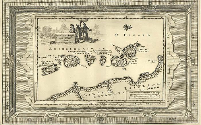 Moluccas 1714.