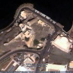 The Portuguese Fort of Mirani, Muscat, Oman. Google Earth