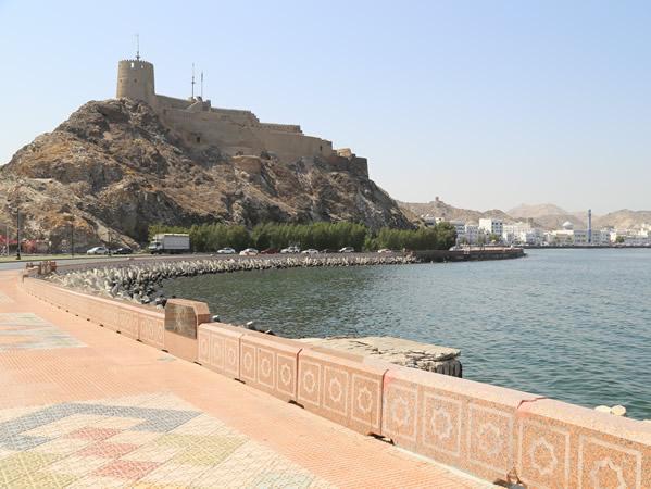 Mutrah Fort, Oman. Author and Copyright João Sarmento