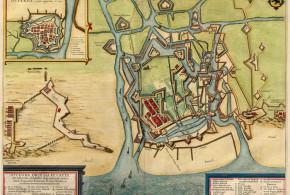 Ostend (1649), Belgium. Author Joan Blaeu. No Copyright
