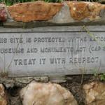 Plinth to mark the market fair site. Luanze, Zimbabwe. Author and Copyright Chris Dunbar