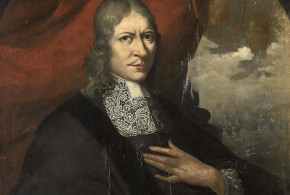 Portrait of Rijckloff van Goens, Governor-General of the Dutch East Indies from 1678 to 1681. Author Martin Palin. No Copyright