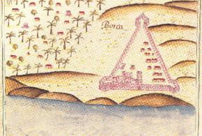 Portuguese fort of Borca from Prof. Rui Carita Lyvro de Plantaforma das Fortalezas da Índia