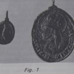 Portuguese gilded bronze medallion