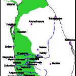 Portuguese territorial expansion in Ceylon 1600. Author and Copyright Marco Ramerini