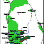 Portuguese territorial expansion in Ceylon 1628-1630. Author and Copyright Marco Ramerini