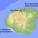Russian forts on Kauai island, Hawaii. Author Marco Ramerini