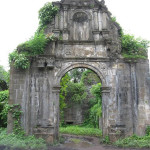 The entrance Gate to the citadel of the fortress. Vasai, Bassein, Baçaim. Author and Copyright Sushant Raut