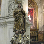 Virgin Mary in Seville Cathedral