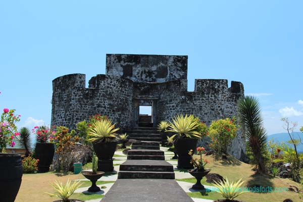 Fort Tolukko, Ternate, Indonesia. Author and Copyright Simon Pratt