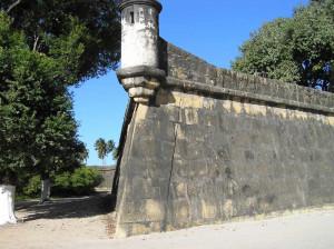A bastion of Fort Orange, Itamaracá. Author and Copyright Marco Ramerini