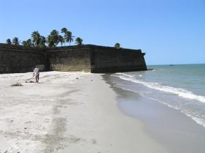 The beach of Fort Orange, Itamaracá, Pernambuco, Brazil. Author and Copyright Marco Ramerini