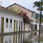 A street of Paraty, Brazil. Author and Copyright Marco Ramerini.