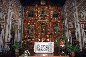 Altar Mayor, Concepción mission, Bolivia. Photo Copyright by Geoffrey A. P. Groesbeck.