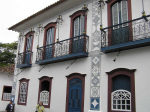 An old building, Paraty, Brazil. Author and Copyright Marco Ramerini