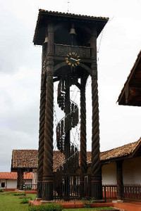 Campanario, Concepción mission, Bolivia. Photo Copyright by Geoffrey A. P. Groesbeck