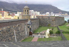 Castle of Good Hope (Kasteel de Goede Hoop), Cape Town, South Africa. Author and Copyright Marco Ramerini