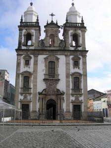 Catedral de São Pedro dos Clérigos, Recife, Pernambuco, Brazil. Author and Copyright Marco Ramerini