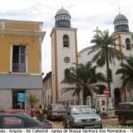 Cathedral (Sé Catedral), Igreja de Nossa Senhora dos Remédios, Luanda, Angola. Author and Copyright Virgilio Pena da Costa